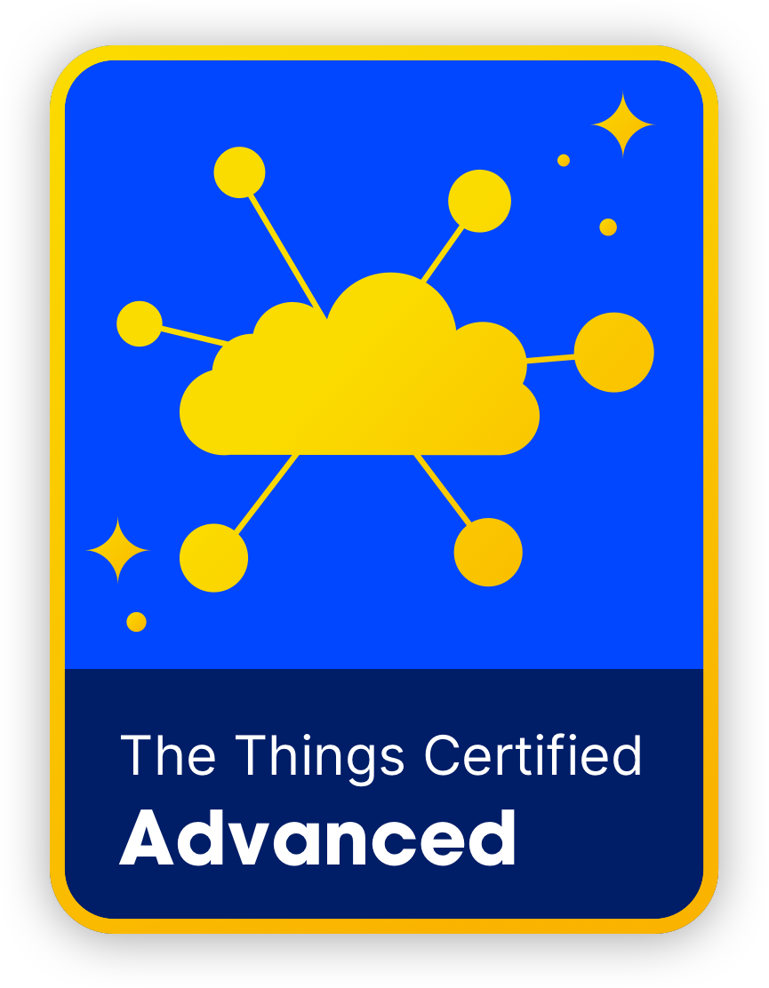 The Things Certified Advanced - You are the expert